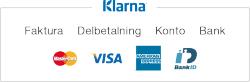 Klarna - faktura, konto, delbetalning, kort och internetbank