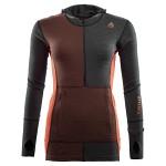 Aclima WarmWool Hood Sweater W/Zip - Dam