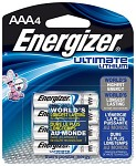 Energizer Ultimate Lithium Batteri - AAA