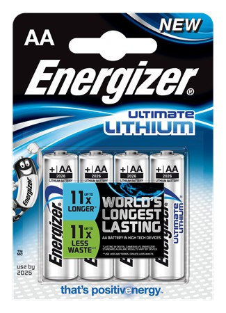 Energizer Ultimate Lithium Batteri - AA