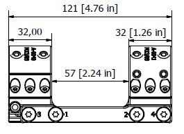 Spuhr 34mm Unimounts for Picatinny