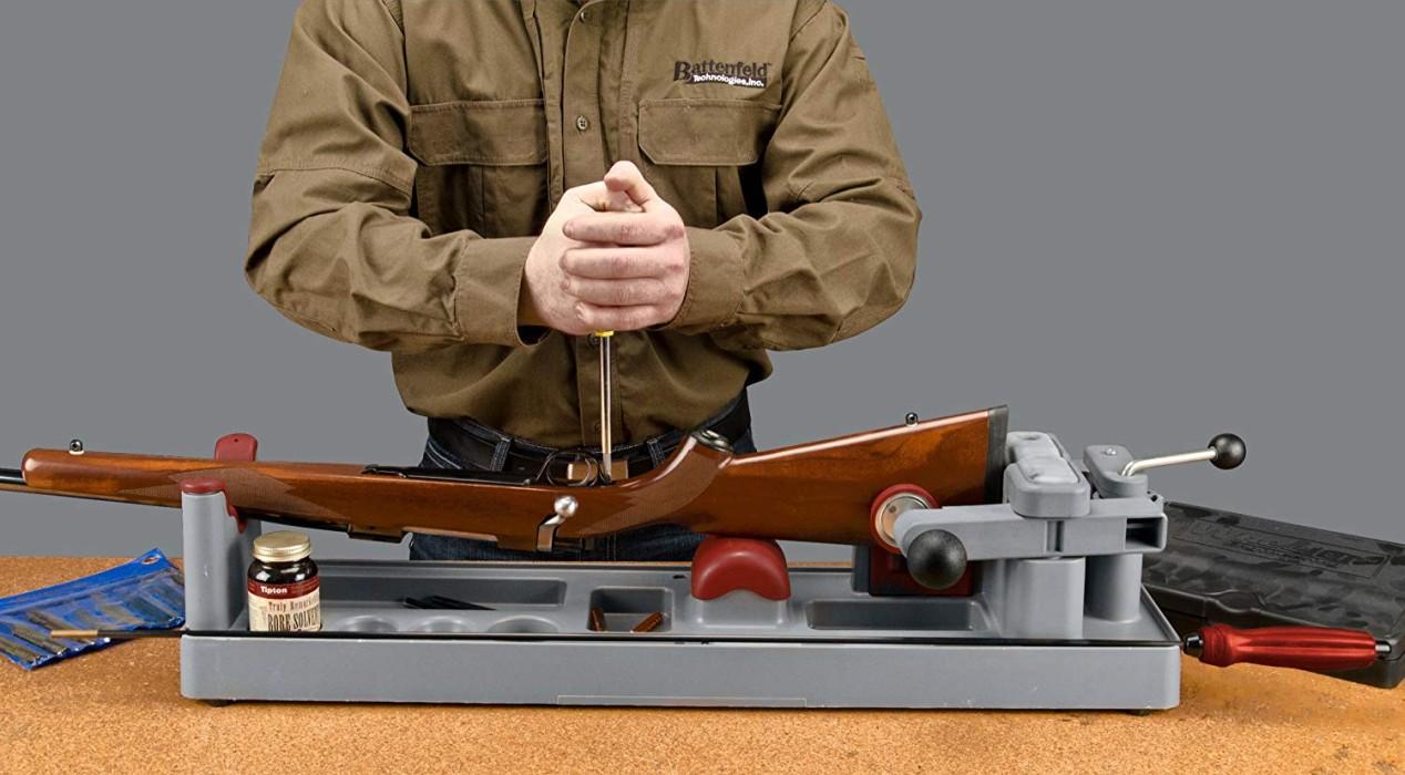 Tipton Gun Vise Rengöringsställ